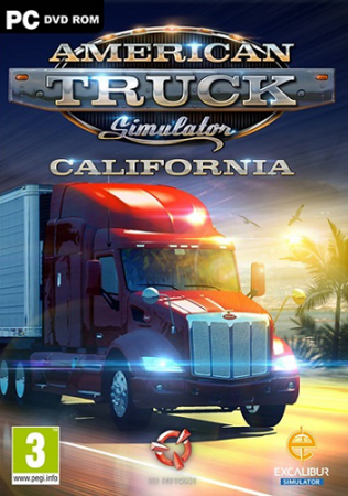 American Truck Simulator [v 1.38.2.18s + DLCs] (2016) PC | RePack от xatab