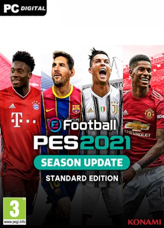 eFootball PES 2021 [v 1.1.0] (2020) PC | RePack от xatab
